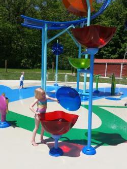 Watermill Splash Pad, Williams Park Brownsburg