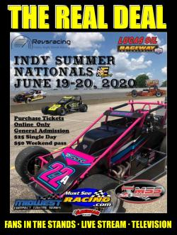 Don't miss the Indy Summer Nationals at Lucas Oil Raceway in Brownsburg over Father's Day weekend!