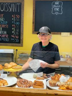 Marvelous Mo Works the Bakery, Farmers Markets, and Coordinates the CSA Program