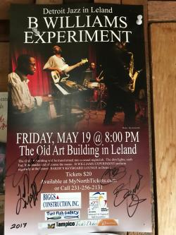 Signed Playbill from Detroit Jazz