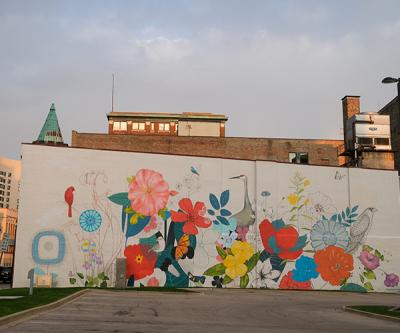 Mural - Yulia Avgustinovich
