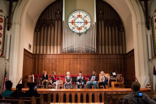 A thought-provoking panel discussion at the Connect Beyond Festival in Asheville, NC