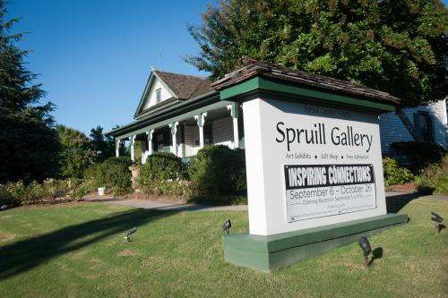 Spruill Gallery and Sign