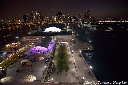 Rooftop Terrace at Navy Pier New