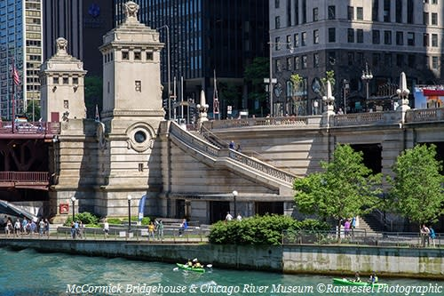 The McCormick Bridgehouse & Chicago River Museum