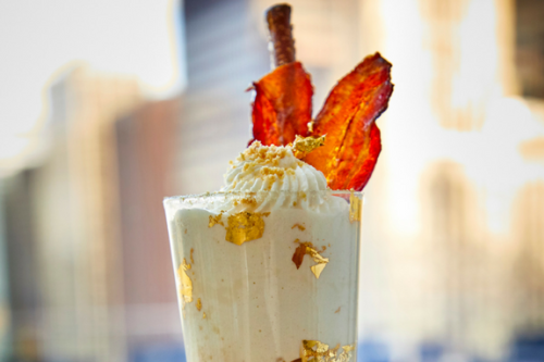 Fat Elvis Milkshake Terrace at the Trump