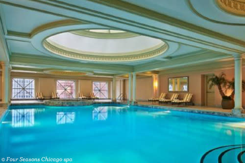Swimming pool at Four Seasons Chicago