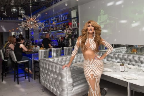 Diva entertainer at Kit Kat Lounge & Supper Club in Chicago