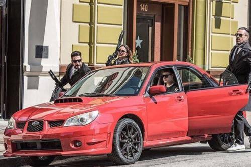 Baby Driver Subaru