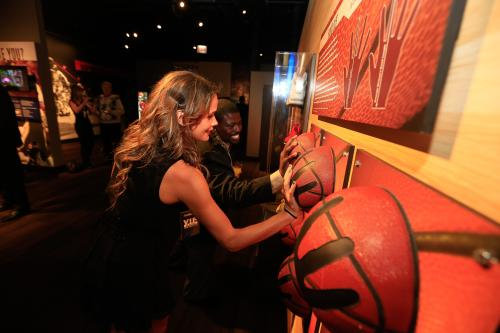 Chicago Sports Museum Basketballs