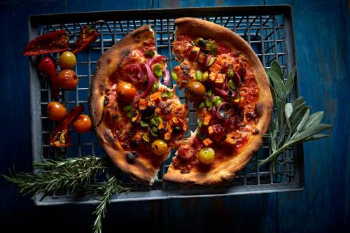 Heirloom Farmhouse Kitchen specialty pizza