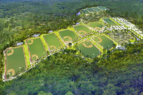 Baseball and softball renderings updated