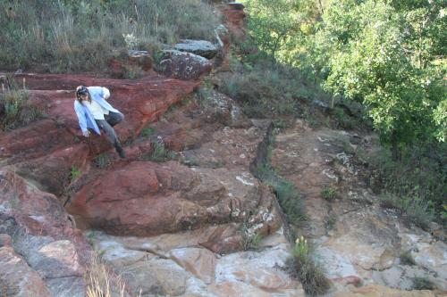 Buffalo Tracks Nature Trail Rocks