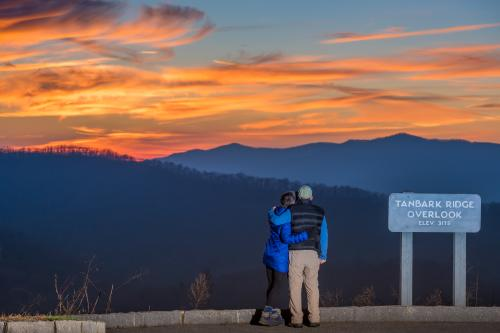 Winter hikes in Asheville