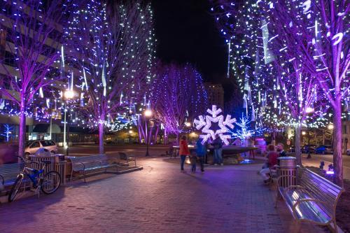 Downtown Winter Lights