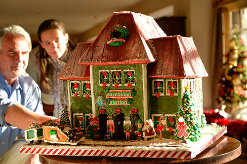 Gingerbread House Competition OGPI