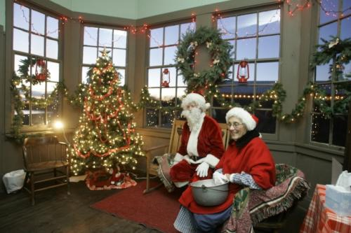 Ag Hall Santa