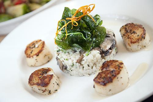 Aspen Grille Scallops and Risotto
