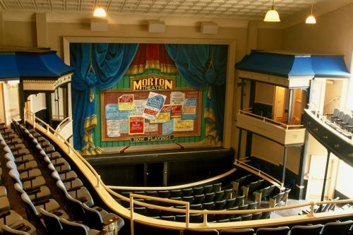 Morton Theatre stage