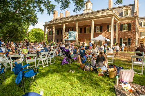 Fridays on the Front Porch event at Carolina Inn