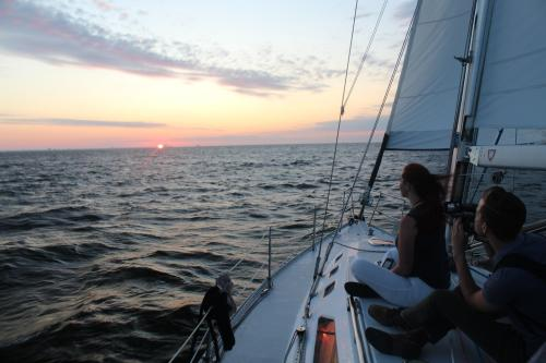 North Star Sailing Sunset