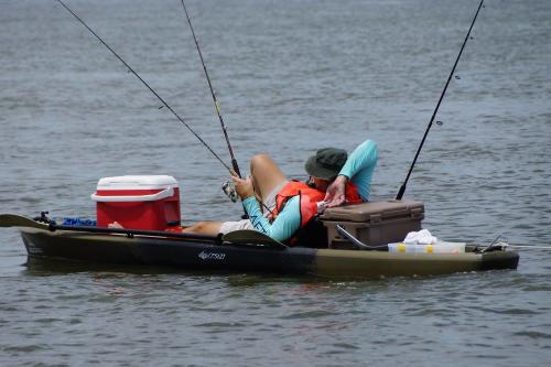 Ride the Bull Kayak Fishing Tournament