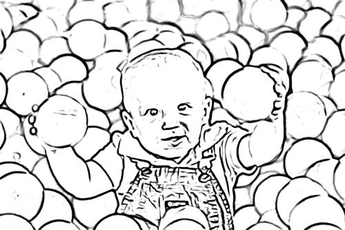 Ball Pit Kid