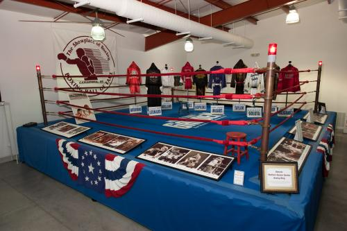 Madison Square Garden's Ring at the International Boxing Hall of Fame