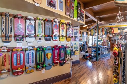 Skateboard Museum Interior