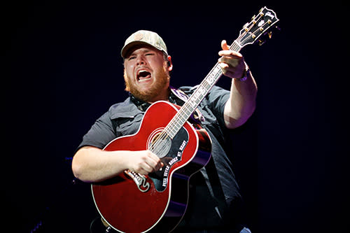 Luke Combs CCMF 2020 Headliner