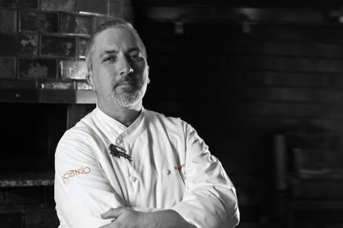 Portrait of Chef Michaeil Reining