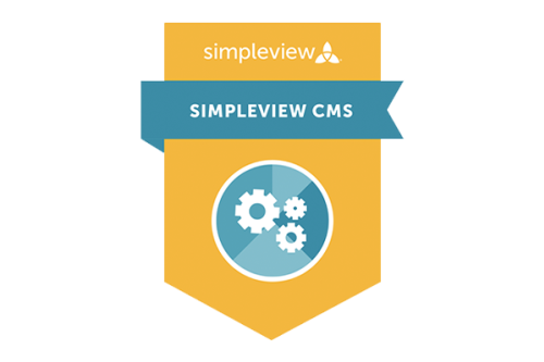 Simpleview CMS Badge