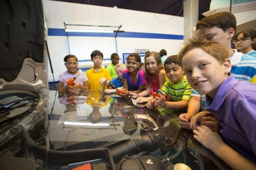 Mercedes Benz Shop at Kidtropolis at the Fort Bend Children's Discovery Center