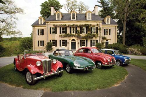 Classic Cars at Hagley Car Show