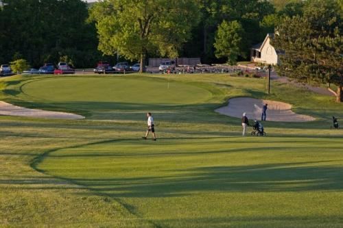 People Playing Golf At Mound Golf Course In Miamisburg, OH
