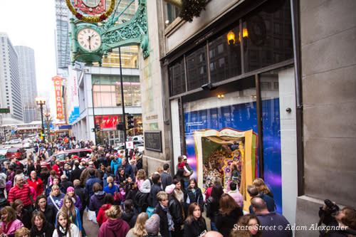 State Street Chicago Shopping Map Guide to Holiday Shopping in Chicago | Find Stores, Markets & Events