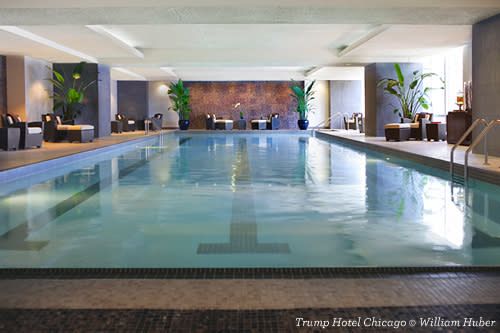 Pool and Spa at Trump Hotel Chicago