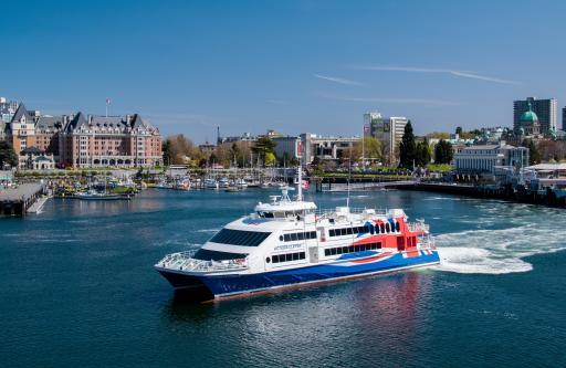 Victoria Clipper in Harbor