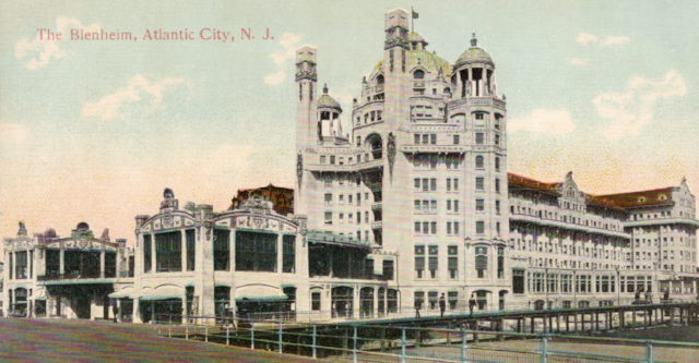 Exterior view of the Blenheim in Atlantic City, NJ