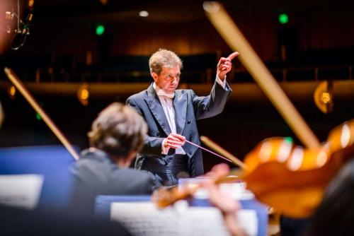 Maestro Thierry Fischer Conducting - Courtesy of Utah Symphony