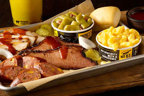 Dickey's 3 Meat plate