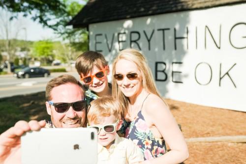 EWBOK Family Selfie