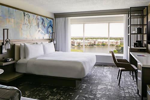 Marriott Las Colinas room