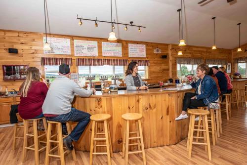 Bar at Critz Farms Brewing & Cider Company