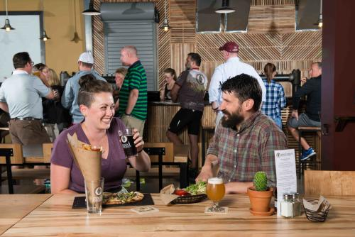 Dining and drinks at Good Nature Farm Brewery