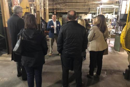 Factory Tour at Liberty Tabletop