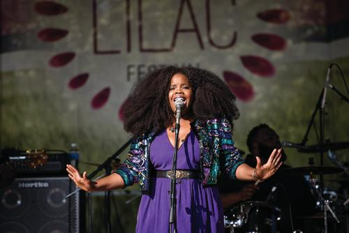 Live Performance at Rochester Lilac Festival
