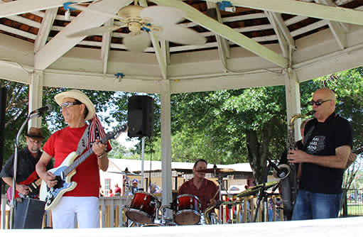 Band in Gazebo
