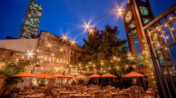 Batanga Outdoor Cafe in Houston