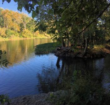 Kiwanis Riverway Park Riverbank